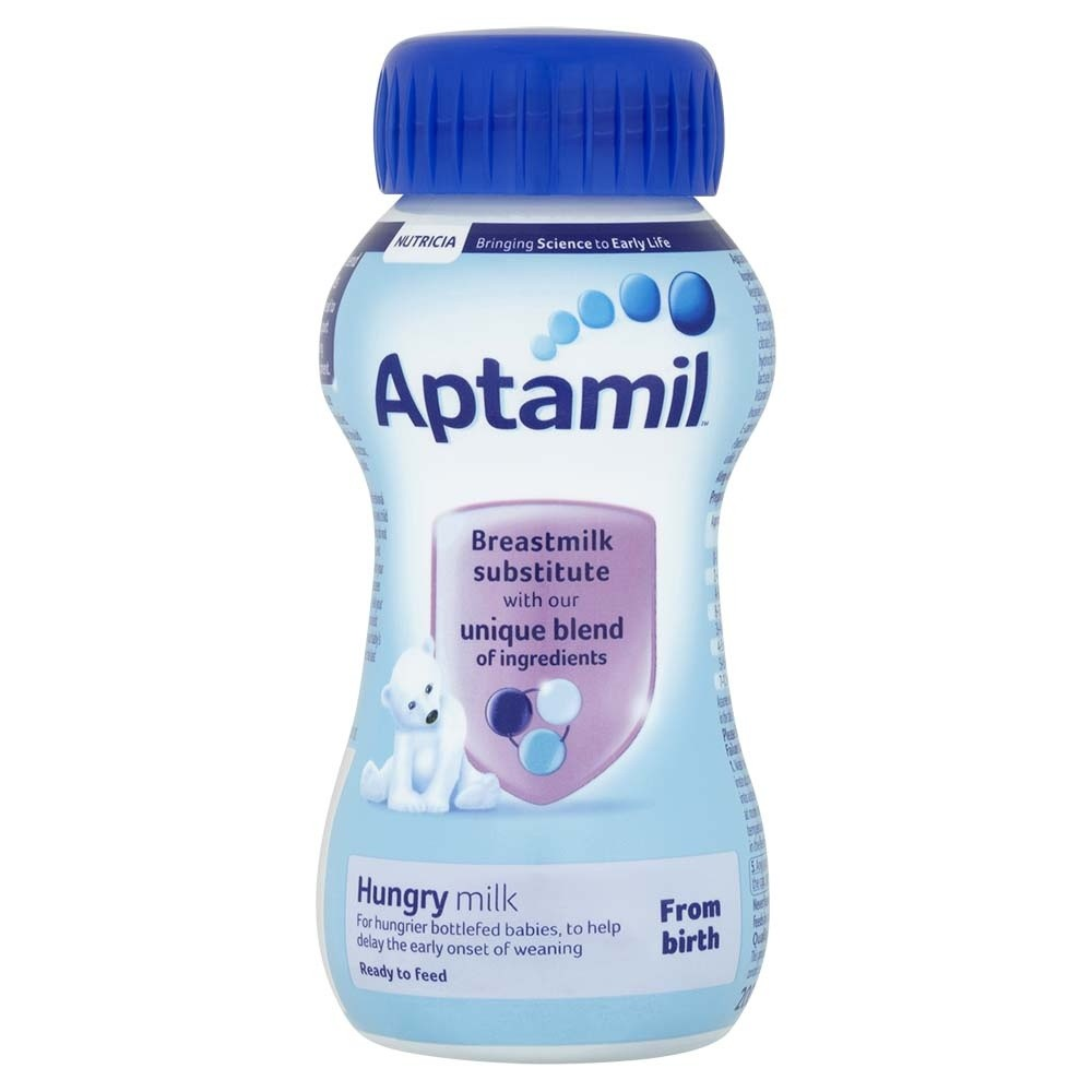 Click to view product details and reviews for Aptamil Ready To Feed Extra Hungry Milk Expiry Date May 19.