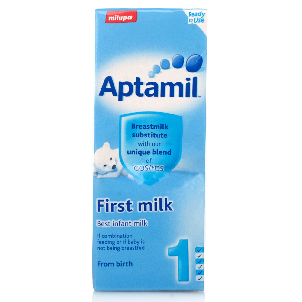 Aptamil Ready To Feed First Milk 200ml Expiry Date August 2019