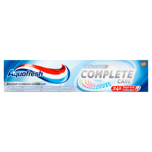 Buy Aquafresh Toothpaste Complete Care Whitening Fluoride ...