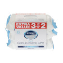 Athena Face Wipes 3in1 25 Wipes x 3