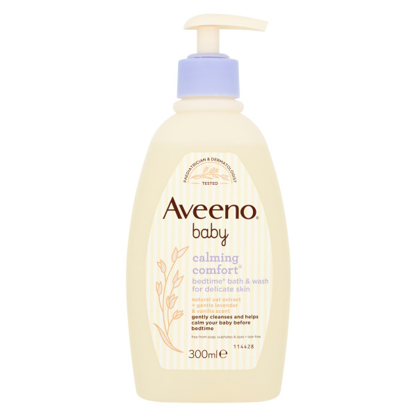 Aveeno Baby Calming Comfort Bedtime Bath and Wash