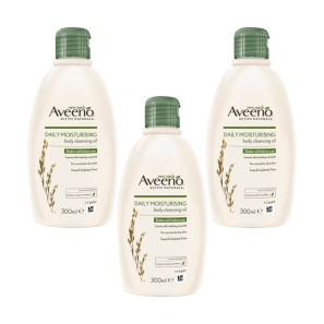 Aveeno Daily Moisturising Body Cleansing Oil 6 Pack