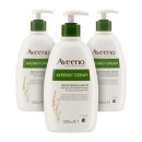 Aveeno Moisturising Cream With Natural Colloidal Oatmeal - 3 Pack