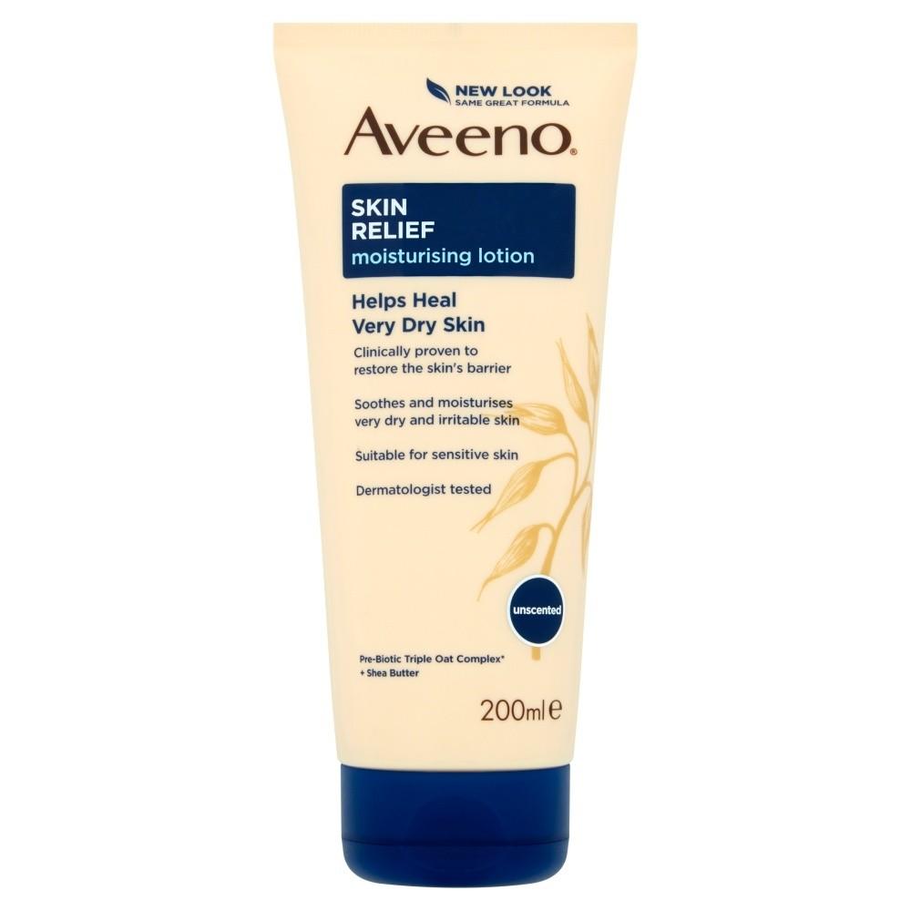 Aveeno Skin Relief Body Lotion Shea Butter