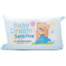 Baby Dream Baby Wipes Sensitive 72s