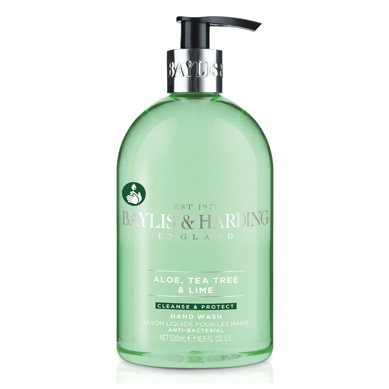 Baylis & Harding Anti-bacterial Luxury Hand Wash with added Moisturisers Aloe Tea Tree & Lime