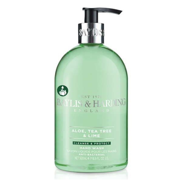 Baylis & Harding  Anti-bacterial Luxury Hand Wash with added Moisturisers, Aloe, Tea Tree & Lime