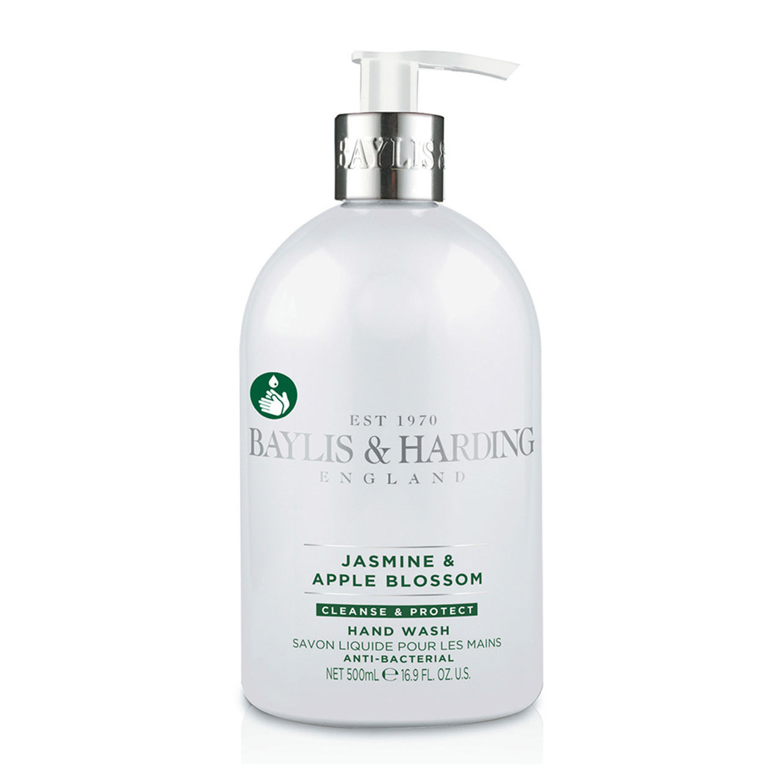 Baylis & Harding Jasmine & Apple Blossom Luxury Anti-bacterial Hand Wash with added Moisturisers