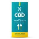 BeYou CBD Oral Drops Spray Dual 1200mg Lemon