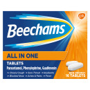 Beechams All In One Cold and Flu Relief Tablets 16s