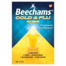 Beechams Cold & Flu Hot Lemon Hot Drink Powders 10s