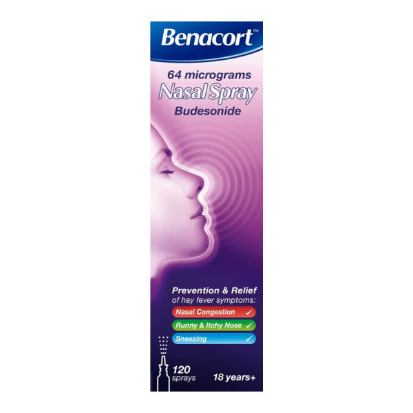 Benacort Nasal Spray 64mg