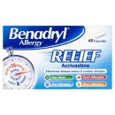 Benadryl Allergy Relief 48 Tablets