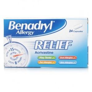 BenadrylAllergy Relief Capsules