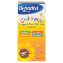 Benadryl Allergy Syrup Child 2+