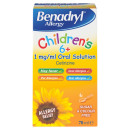 Benadryl Child Allergy Solution 6+