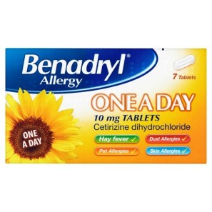 BenadrylOne A Day Relief Tablets