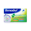 Benadryl Plus Allergy Relief Capsules
