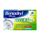 Benadryl Plus Caps 12