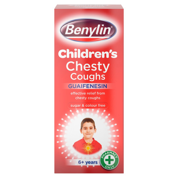 Benylin Childrens Chesty Coughs Non Drowsy
