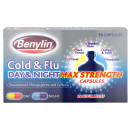 Benylin Cold & Flu Day & Night Max Strength Capsules