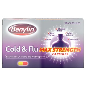 Benylin Cold and Flu Max Strength Capsules