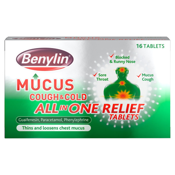 Benylin Mucus Cough Tablets
