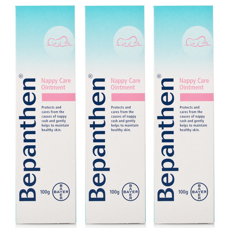 Click to view product details and reviews for Bepanthen Nappy Care Ointment Triple Pack.