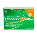 Berocca Orange Flavour Effervescent Tablets