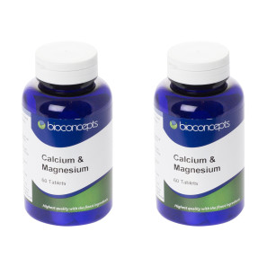 Bioconcepts Calcium 400mg with Magnesium Vitamin D & Zinc