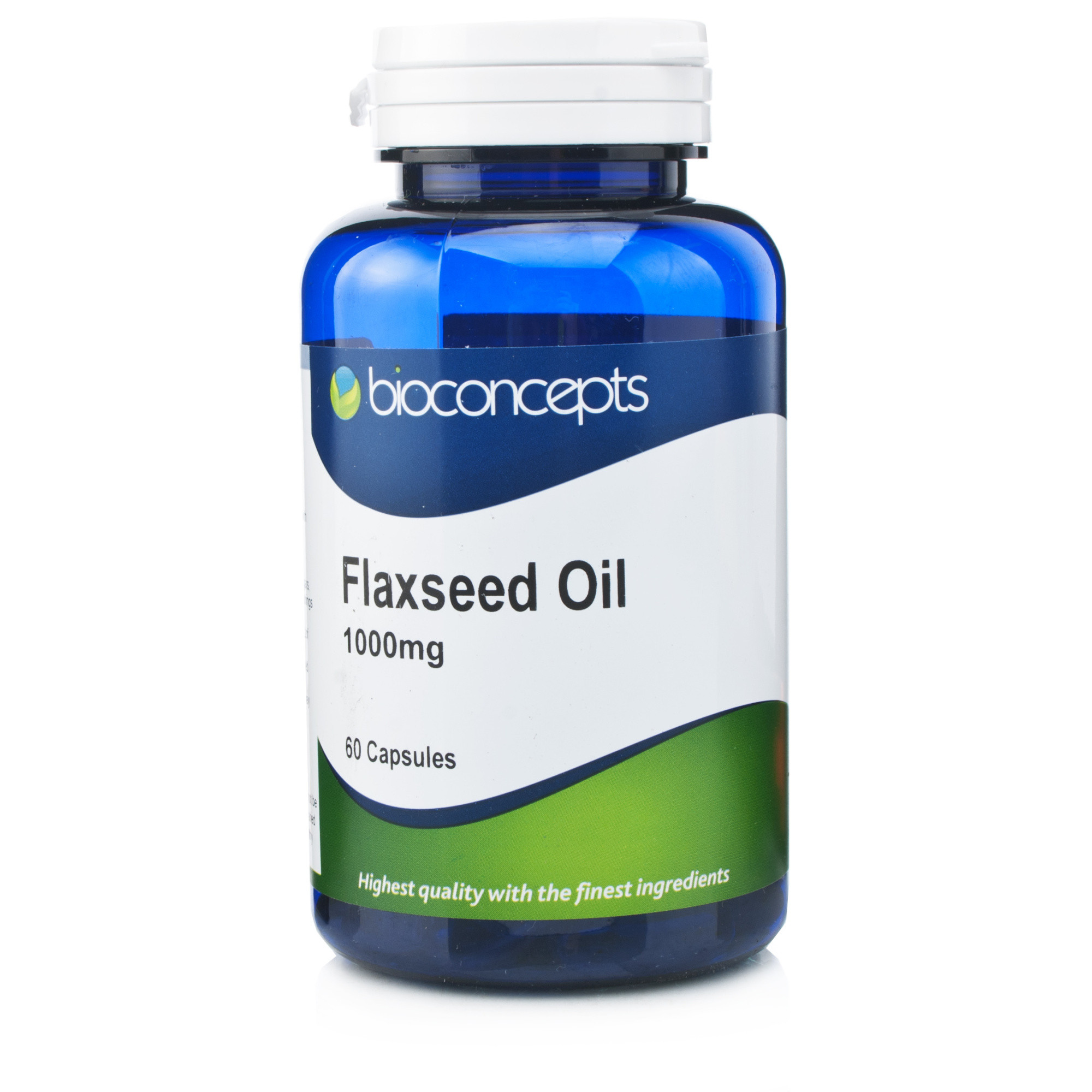 Bioconcepts Flaxseed Oil 1000mg 60 Capsules