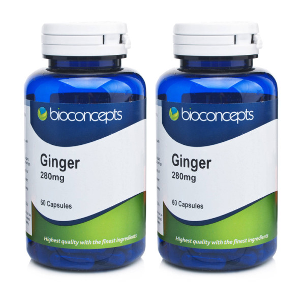Bioconcepts Ginger 280mg - 120 Capsules