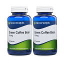 Bioconcepts Green Coffee Bean Extract 133mg - 120 Capsules