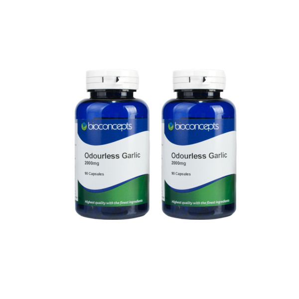 Bioconcepts Odourless Garlic 2000mg 180 Capsules
