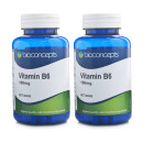 Bioconcepts Vitamin B6 100mg - 120 Tablets