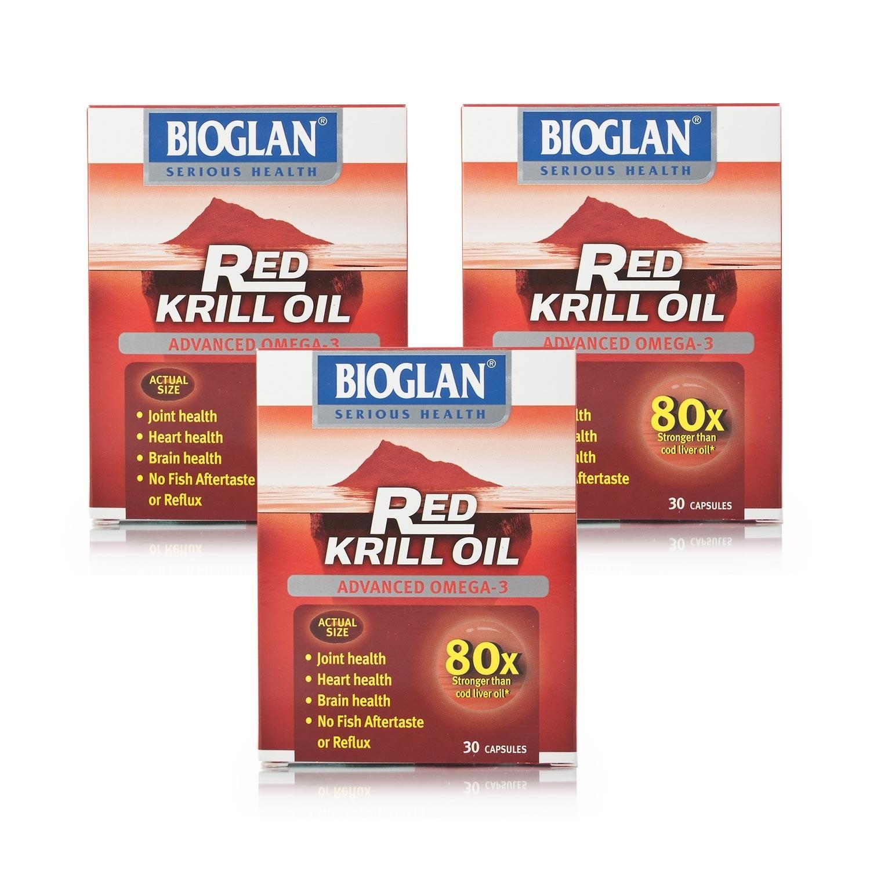 Bioglan Red Krill 30's x3