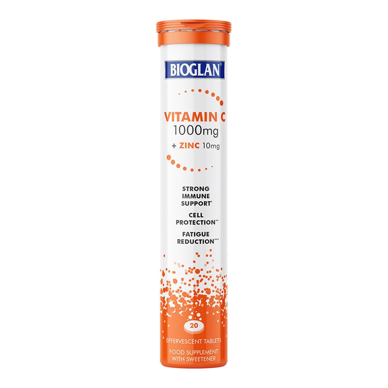 Bioglan Vitamin C and Zinc Effervescent Tablets