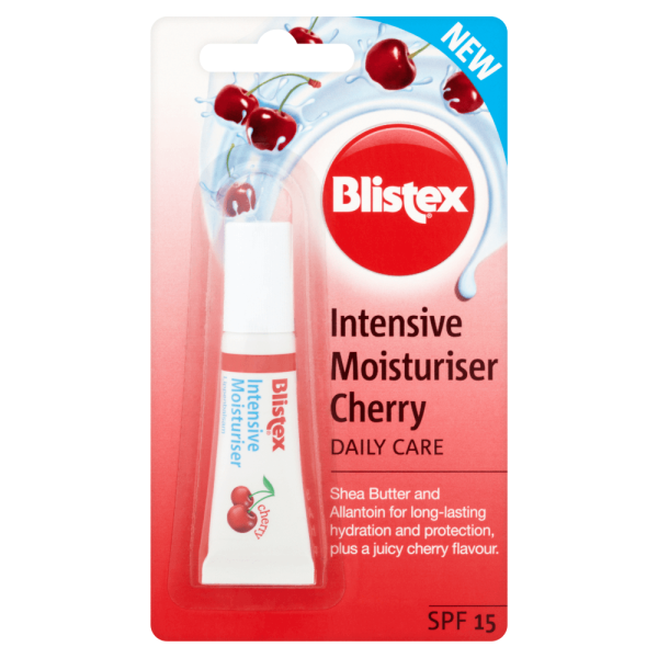 Blistex Intensive Moisturiser Cherry Lip Balm SPF15 6ml