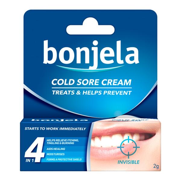 Bonjela Cold Sore Cream Invisible