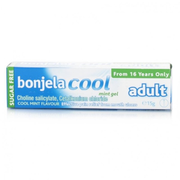 Bonjela Adult Gel Cool Mint