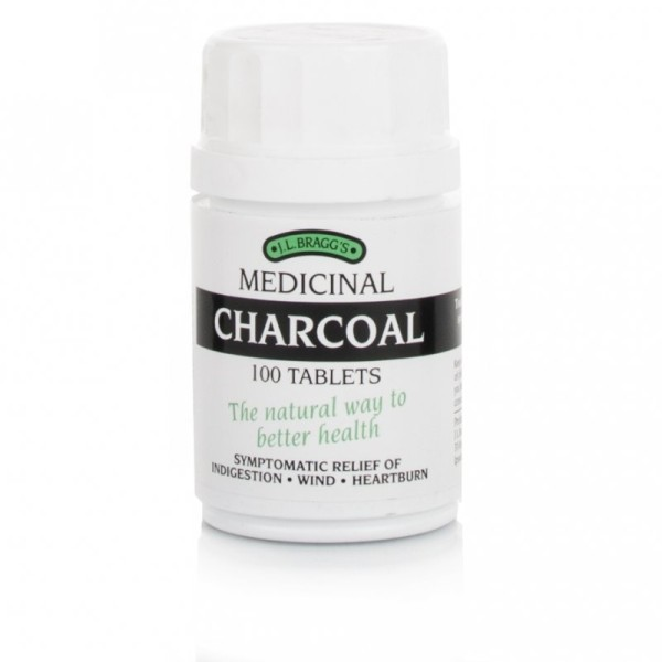 Braggs Medicinal Charcoal Tablets