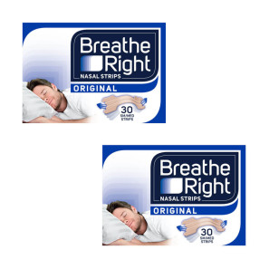 Breathe Right Nasal Strips Original Small/Medium Twin Pack