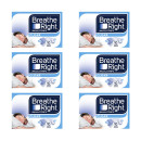 Breathe Right Congestion Relief Nasal Strips Clear Large Six Pack