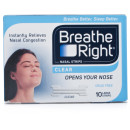 Breathe Right Nasal Strips Clear Large Strips
