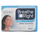 Breathe Right Nasal Strips Clear Small/Medium Eight Pack