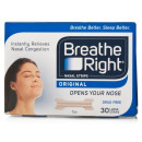 Breathe Right Nasal Strips Tan Large 30s x8