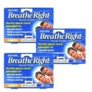 Breathe Right Small / Medium Nasal Strips Triple Pack