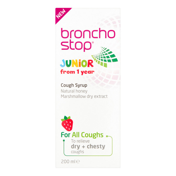 Buttercup Bronchostop Junior Cough Syrup