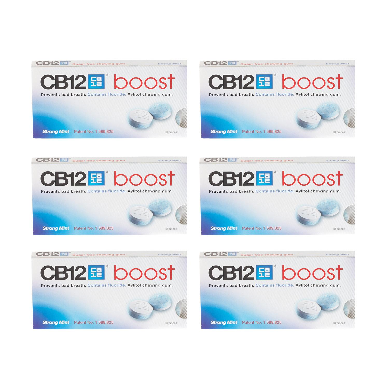 CB12 Boost Gum 10's 6 Pack