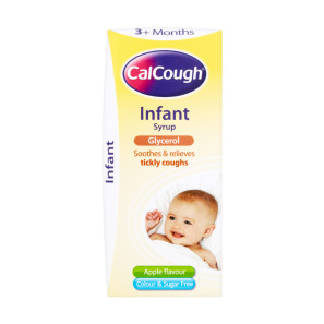 Calcough Apple Children Syrup 125ml